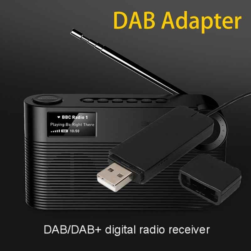 Nieuwe Dab Digitale Radio Ontvanger Met Antenne Voor Bluetooth Luidspreker Home Stereo Tv Met Usb Lezen Disk Functie Accessoires