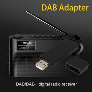 Image 1 - Nouveau récepteur de Radio numérique DAB avec antenne pour haut parleur Bluetooth TV stéréo à domicile avec accessoires de fonction de disque de lecture USB