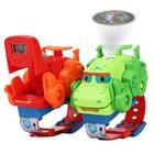 Kids Watch New Deformation Watch Dinosaur Toys Can Project Children Watch Cartoon Electronic Watch Q Cute Dragon