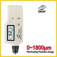 Digital Paint Coating Thickness Gauge Car Detector Automotive Coating Refinishing Car Paint Tester Meter GM220 BENETECH
