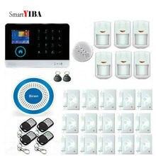SmartYIBA WIFI 3G WCDMA Wireless Home Office Business Security Alarm System Smoke Fire Sensor Detector Spanish French Italian