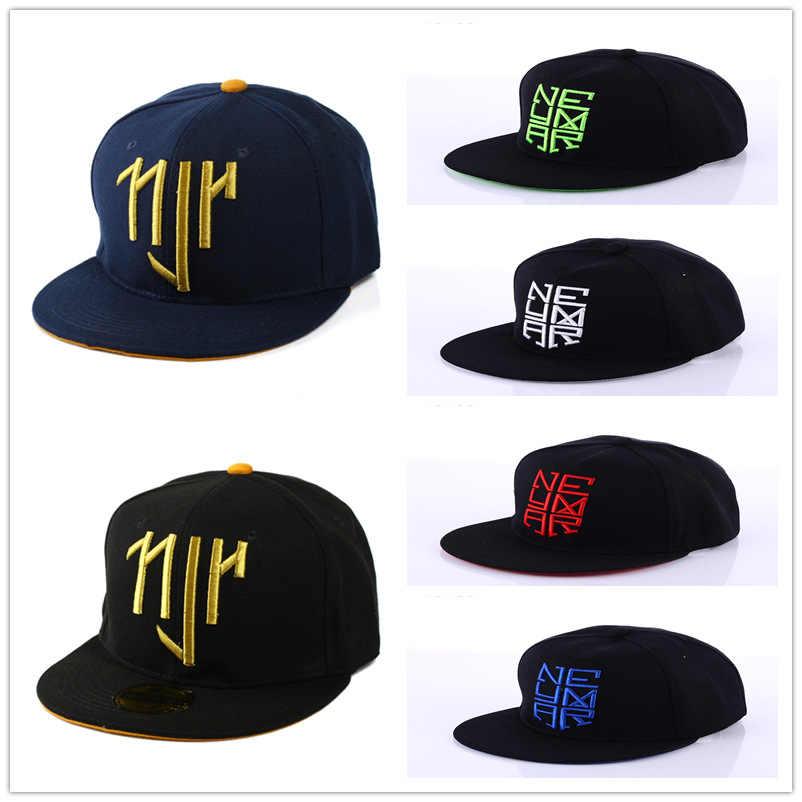 2018 nuevo Neymar NJR LA gorra ajustable Snapback gorra de Hip Hop sombreros  de los hombres 1c97650c137