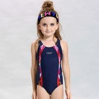 Arena Competition Girls Bikini 2017 Swimsuit One Piece Swimwear Children Bathing Suit Kids Swimming Suit Beach