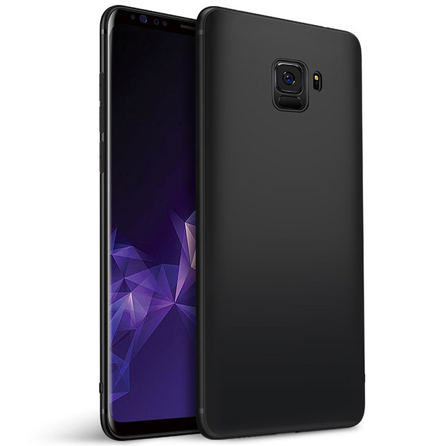 MUCHI For Samsung Galaxy A6 2018 Case Soft Matte Phone Cover Case For Samsung Galaxy A6 Plus A7 J6 J8 2018 S8 S9 Plus A3 A5 2017