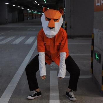 Маска ручной работы Тигр