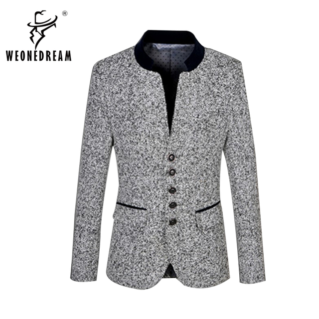 7f06c65cd2a WEONEDREAM 2018 New Mens Leisure Blazers Brand Autumn Spring Thicken Business  Dress Floral Suit Jacket Coat Plus Size M-6XL