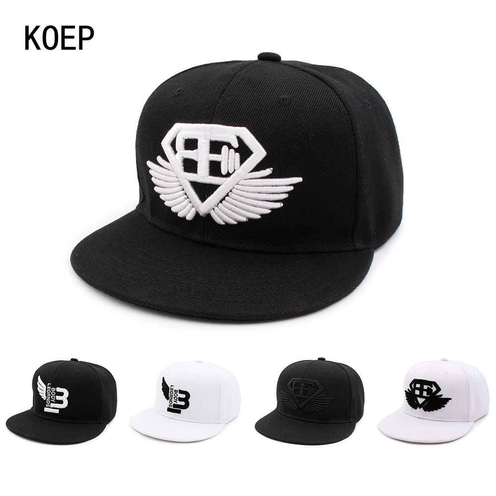 KOEP Caps Hat Baseball-Cap Sun-Hats Letter Hip-Hop Snapback Men Adjustable Tactical Fashion