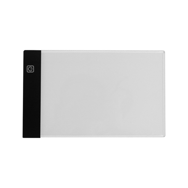 US $11 25 46% OFF|Portable A5 Ultra thin LED Light Box Tracer USB Powered 3  Level Adjustable Brightness Eye protected Tracing Light Pad Copy Board-in