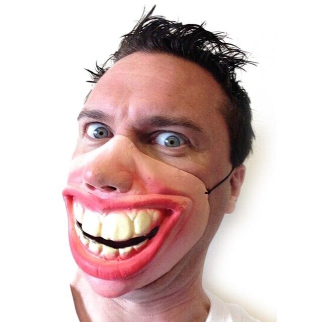 Big Teeth Latex Mask