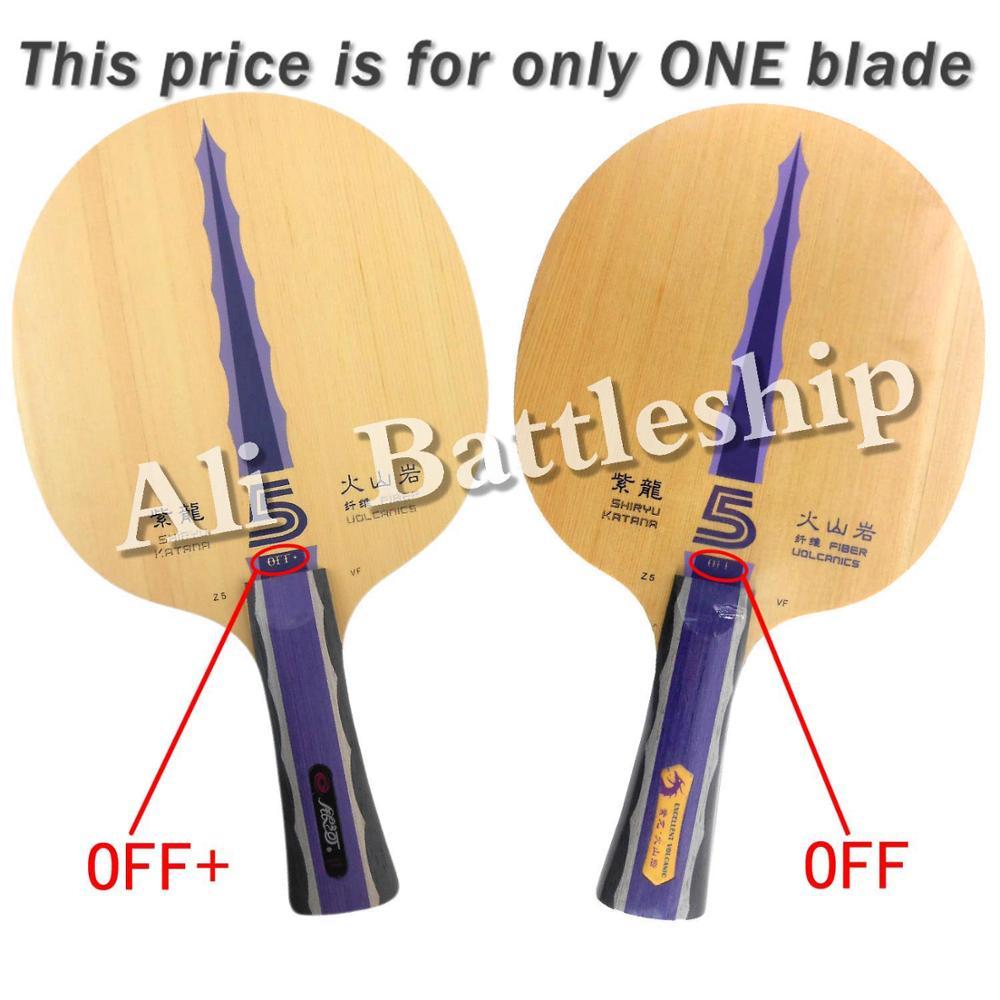 Original Yinhe Milky Way Galaxy Shiryu Katana Z5.VF table tennis pingpong blade цена