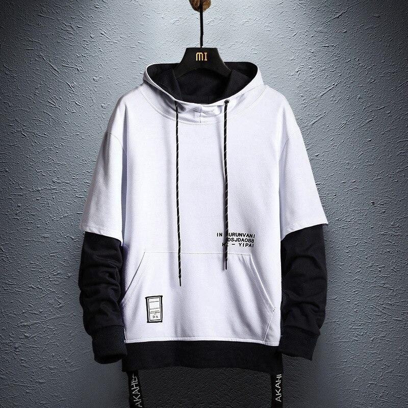 2d0135e561 Otoño Sudadera Casual Capucha Para Hop Sudaderas Moda Streetwear White  Hombre Los Nueva Ropa 2019 Hombres ...