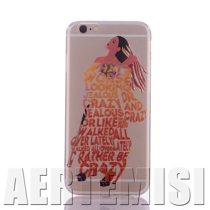 Phone Cases Beyonce Lemonade Crystal Clear Flexible Soft TPU Case Cover for Apple iPhone 4 4s 5 5s 5c 6 6s Plus SE