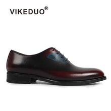 Vikeduo 2019 Vintage Mens Dress Shoes Butterfly Pattern Print Wedding Office Formal Shoe Brand Original Oxford Footwear Zapatos