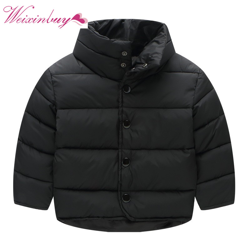 Kids Jacket for Boys Girls 2017 Winter Coat Kids Clothes Baby Thicken Jackets Boys and Girls Fashion Warm Coat For 2-7Y kids jackets 2017 winter baby boys jacket for boys outerwear coat parkas children warm thicken cotton padded clothes