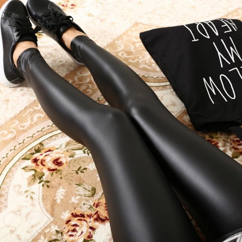 Shining sexy leggings lycra spandex leggings for Good elastic Women push up