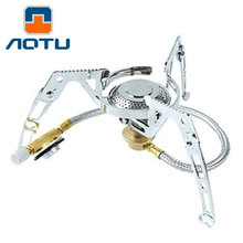 Folding Gas Stove Big Power Split-Type Outdoor Camping Picnic Cooker Burner Gas Stove  Roasting Energy Saving Burner