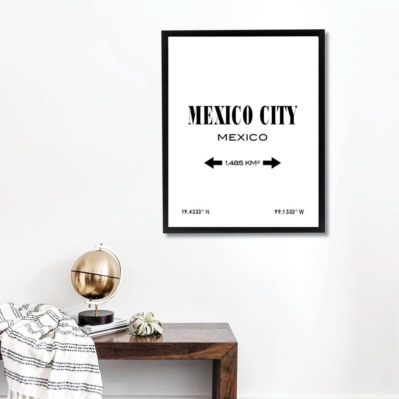 Mexico City Print