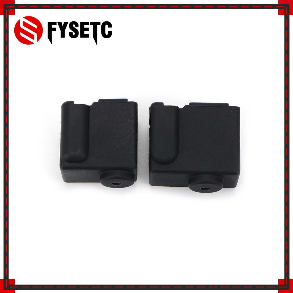 Volcano V2 Silicone Socks of Heater Block 24x20x11 5mm Silicone Insulation Sock for PT100 cartridge SILICONE