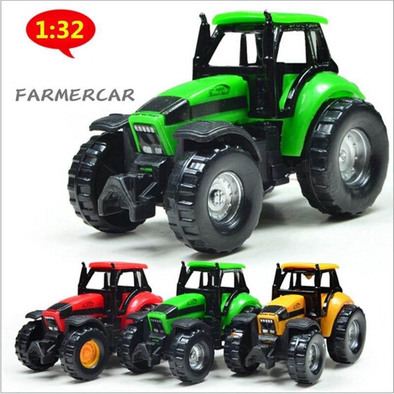 1:32 High Simulation Alloy Farmer Car ,mini Car Model,Farm Cars,Cheap Wholesale Toys,free Shipping