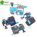 10 pcs original s4 cartão sim titular flex para samsung galaxy s4 i9500 i9505 i337 Sim Titular Leitor de Cartão de Memória Soquete Flex Cable