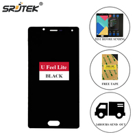 Srjtek For Wiko U Feel Lite LCD Display Matrix Touch Screen Digitizer Full Assembly 5 0