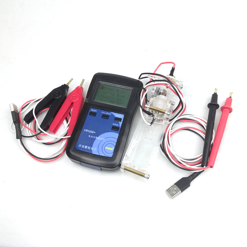 Upgraded English interface Yr1030 new four wire high precision battery internal resistance tester nickel hydrogen chrome