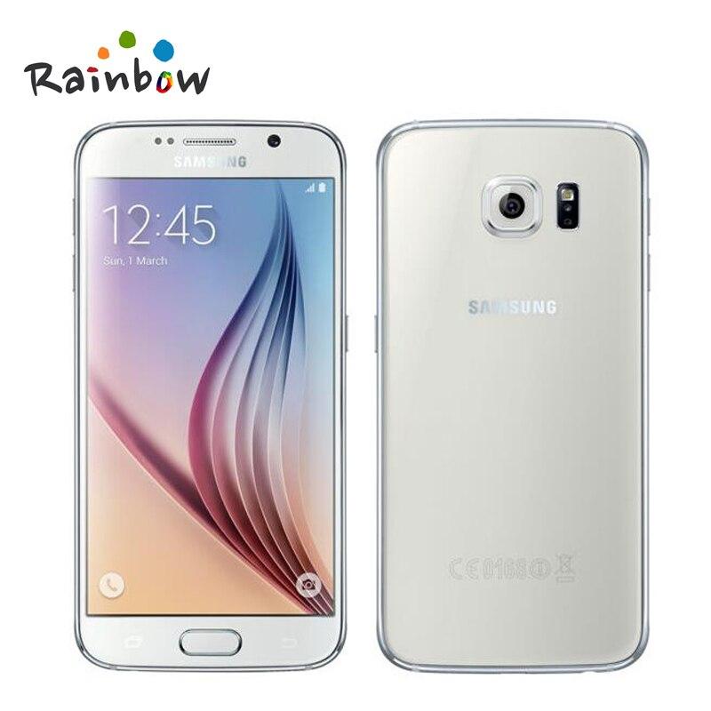"Genuine original Samsung galaxy s6 G9200 Galaxy s6 Edge G9250 Octa Core 3GB RAM 32GB ROM LTE 16MP 5.1"" Unlocked Cell Phone"