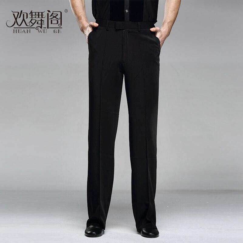 Men Latin Modern Dance Pants Practice