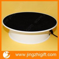 Newest Wine Rotary Display Stand Base With Anti Slip Top For Promotion
