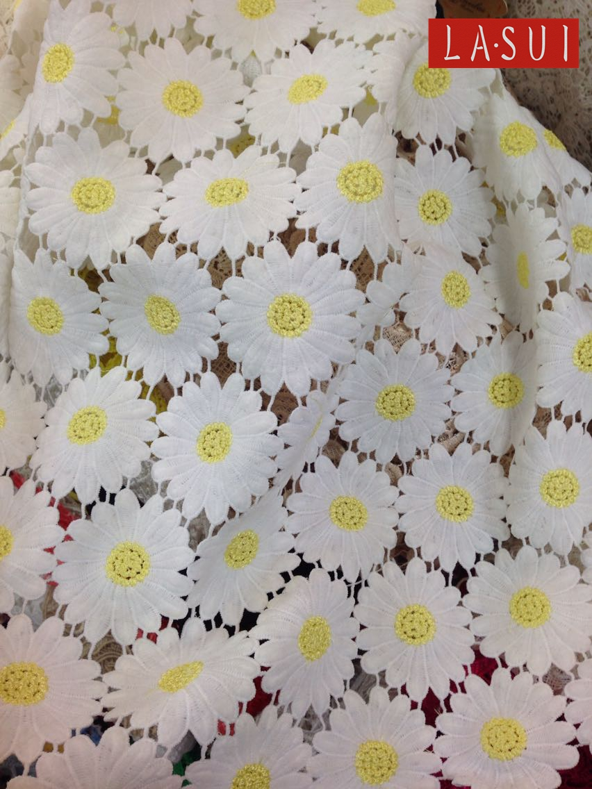 Lasui Fine Workmanship Encrypted Thicktwo Color Fresh Daisy Flowers