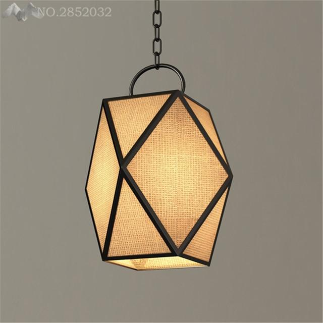 LFH Chinesischen Kreative Land Diamant Polyhedral Pendelleuchten Für  Restaurant Club Bar Cafe Wohnzimmer Dekoration Hängen Lampen