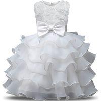 7dd1d4823ac54e ... Baby Girl Dress 2019 Sleeveless Kid Dresses Girls Clothes Party  Princess Vestidos Ninas Birthday. Bekijk Aanbieding. Zwarte korte mouw meisjes  jurk ...
