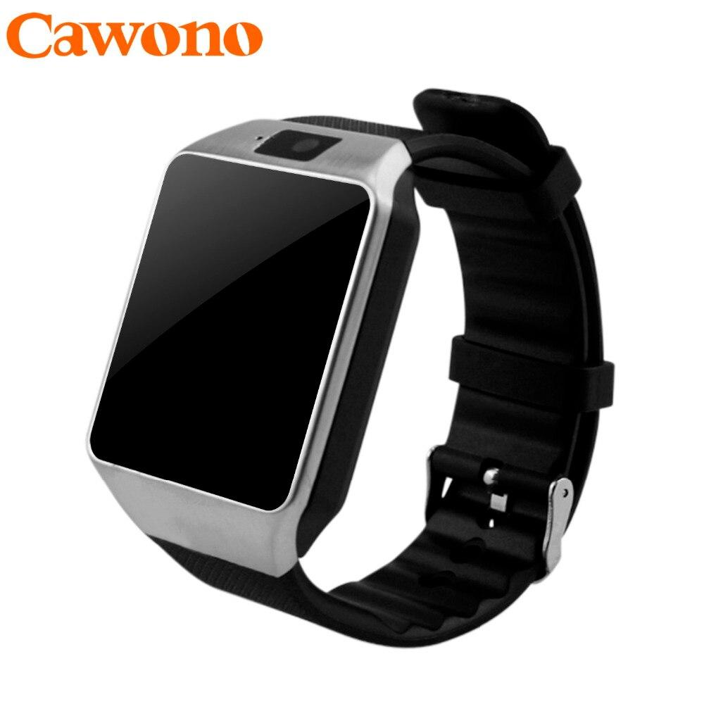 Galleria fotografica Cawono Bluetooth Montre Smart Watch <font><b>Smartwatch</b></font> DZ09 Android Appel Téléphonique Relogio 2G GSM SIM TF Carte Caméra pour iPhone Android VS A1 GT08
