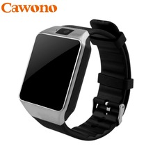 Cawono Bluetooth Smart Watch Smartwatch DZ09 Android Anruf Relogio 2G GSM SIM Tf-karte Kamera für iPhone Android VS A1 GT08(China)