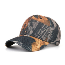 Fashion Spring Summer New Men Camouflage Leaf Printing Outdoor Leisure Wild Hat Baseball Cap Truck Driver Dad Hats