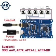 Sem fio csr8675 lossless bluetooth v5.0 módulo de decodificador amplificador pcm5102a placa receptor sbc aac aptx APTX LL ATPX HD i2s