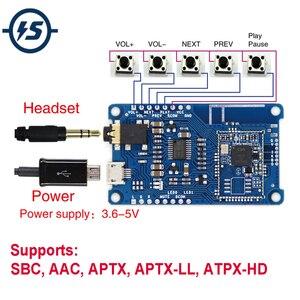 Image 1 - Sem fio csr8675 lossless bluetooth v5.0 módulo de decodificador amplificador pcm5102a placa receptor sbc aac aptx APTX LL ATPX HD i2s