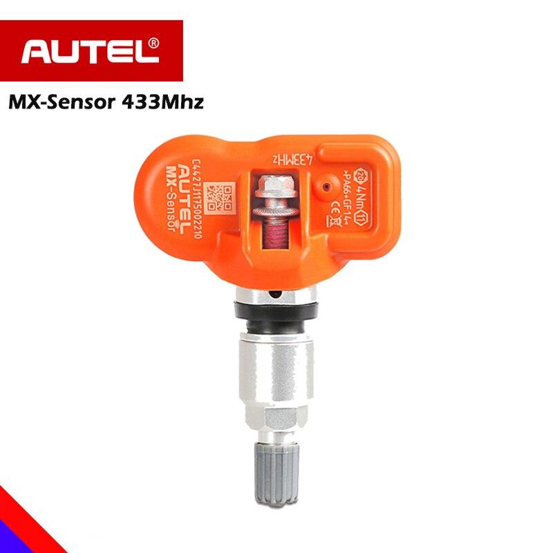 AUTEL Sensor MX-Sensor TPMS 433MHz Sensor For Tire Pressure Universal MX-Sensor 433MHz Programmer work with AUTEL Maxitpms TS601 цена