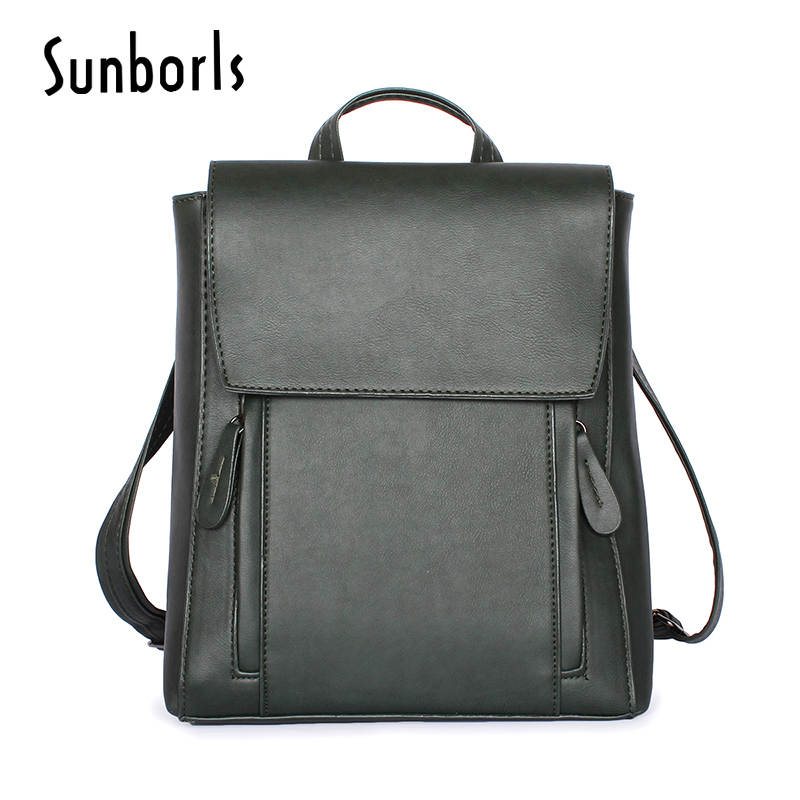 High Quality Women Backpack Leather big Bags New Arrival Backpacks For Teenage Girls Fashion Bag Woman Bolsa Mochila 2v1194 цена