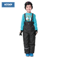 Winter zipper pants 2017 New Polyester Solid Boys Straight Zipper Fly Woven straight pants 90 140 overalls for boys