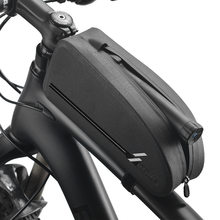 Bicycle Bags Waterproof Cycling Top Front Tube Frame Bag Large Capacity MTB Road Bicycle Pannier Black Bike Accessories(China)
