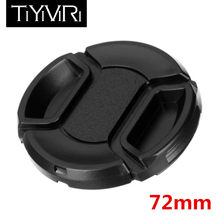 TiYiViRi 49mm 52mm 55mm 58mm 62mm 67mm 72mm 77mm 82mm Professional Protective Lens Cap Lens Cover With Anti-Lost Rope Lens Cap(China)
