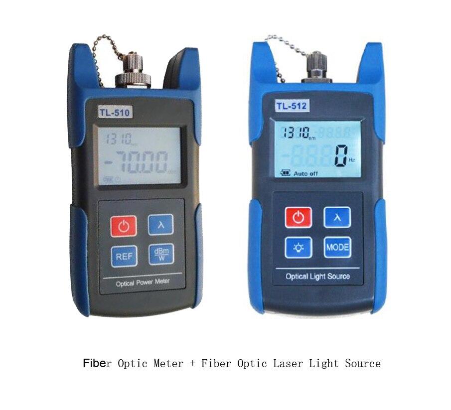 Source de lumière optique de Fiber de source de Laser de TL-512 1310/1550nm + TL-510-70 ~ + 10dBm ou 50 ~ + 26dBm compteur de puissance optique de Fiber livraison gratuite