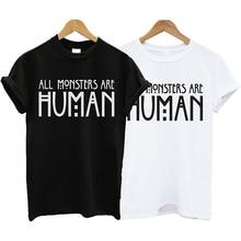 Men Women Fashion Summer Letters Print Casual Short Sleeve Tee Top T-shirt