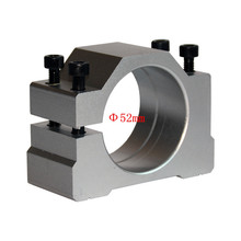 цена на spindle clamp 52mm 65mm aluminum motor bracket cnc carving machine clamp motor holder
