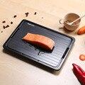Удобный Быстрый лоток для разморозки с чистильщиком замороженное мясо разморозка пищевая тарелка для разморозки доска кухонный инструмен...