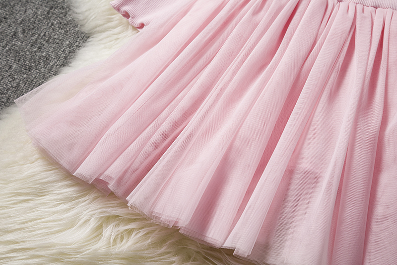 HTB1aucWaKH2gK0jSZJnq6yT1FXaw Kids Long Sleeve Lace Drsses for Girls Party Dress Star Printed Birthday Tutu Dresses Children Casual Wear 3 6 8 Years Vestidos