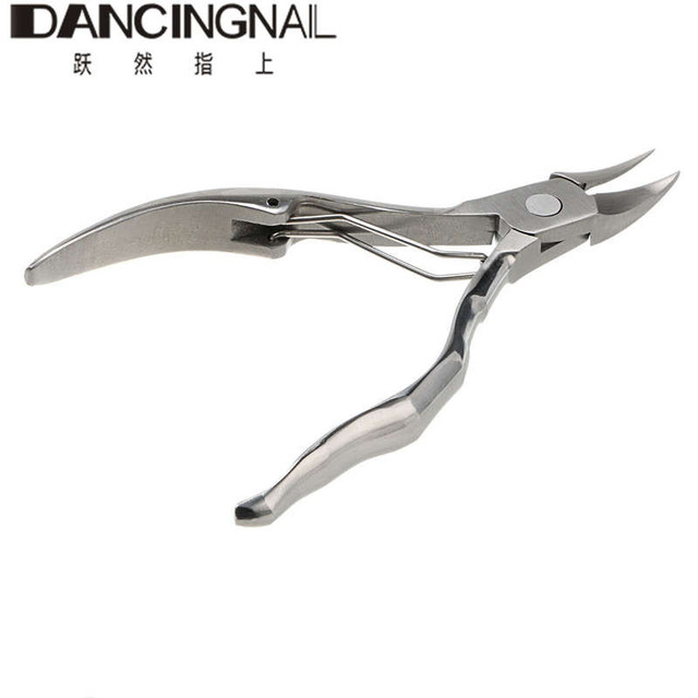 New 1Pcs Professional Stainless Steel Toe Finger Cuticle Nipper Trimmer Nails Scissors Nail Art Clipper Manicure Pedicure Tools