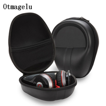 Headphone Case Storage Bag Carrying Hard Bag EVA Earphone Box Travel Organizer Case for Marshall Headphones Holder Accessories