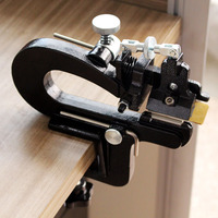 Leather Craft Tools 809BP Manual Leather Skiver Leather Splitter With Blades Leather Paring Machine